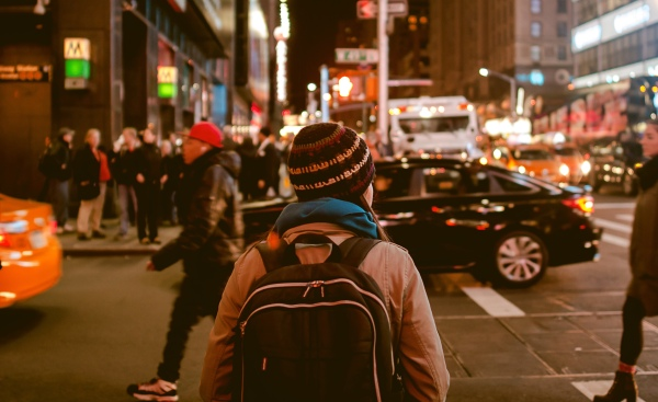 Å være alene sammen med andre. Introvert